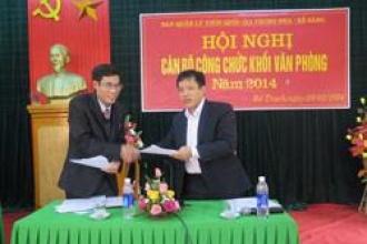 Hội nghị cán bộ công chức khối Văn phòng BQL VQG Phong Nha – Kẻ Bàng năm 2014